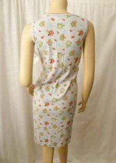 New Mary Engelbreit Garden PJ Pajama Day Lounge Dress Cherries Cherry
