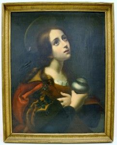 OLD MASTERS PAINTING OF ST MARY MAGDALEN AFTER CARLO DOLCI NoRESERVE