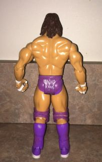 WWE Custom Jakks Classic Superstars Macho King Man Randy Savage WCW