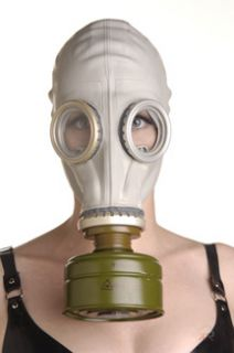 NOTE Inorder to breath through the gas mask be sure to remove the