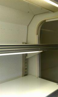 Masterbuilt Open Air Curtain Reach in Merchandiser Cooler Refrigerator