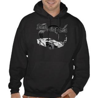 Dirt Modified Race Car Racing Design Hoodie