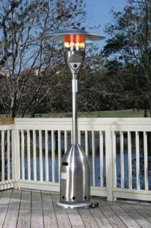 New Stainless Steel Deluxe Patio Heater 40 000 BTU