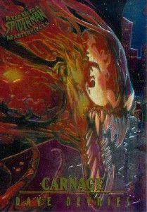 Spider Man 1995 Fleer Ultra Masterpieces 1 Carnage 120131
