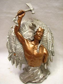 Masterworks Pewter Sedlow Native American War Cry