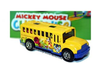 Matchbox 2004 School Bus Mickey Mouse Clubhouse