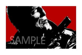 Sin City Mickey Rourke Marv Movie Art Poster Print