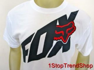 Fox Racing Co Foxtech Tee Shirt s s Mens Performance Size Large White