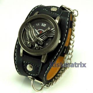 Men Boy Air Force Style Pilot Sport Watch Gel Band Gift