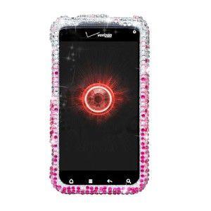 HTC 6350 Droid Incredible 2 Full Diamond Case Verizon Pink Bling Phone
