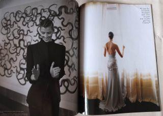 Vogue Paris 04 1998 Rosario Nadal Eva Herzigova