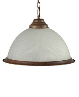 Pacific Coast Lighting, Frosted Glass Shade Pendant   Lighting & Lamps