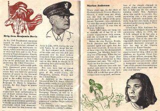 Art Bio 1944 Marian Anderson Mary McLeod Bethune Frank Dixon