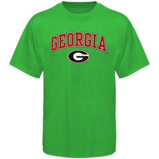 Georgia Bulldogs Kelly Green St Patricks Day T Shirt XL