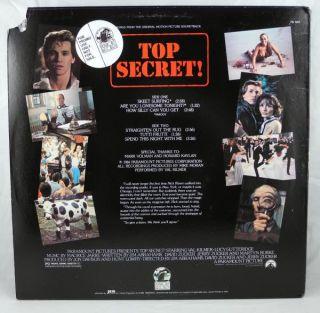 Soundtrack LP Promotional Val Kilmer Maurice Jarre 1984 PB 3603
