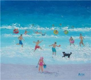 Beach Paintings Original Oil Painting by Matson