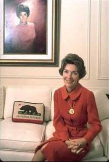 First Lady Nancy Reagan Signed Autograph Letter White House Stationary