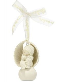 Department 56 Christmas Ornament, Snowbabies Angel To Look After You