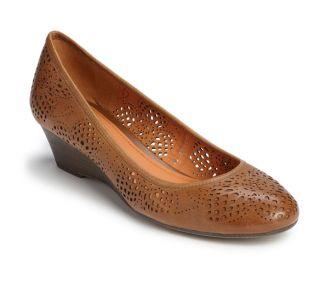 New 2012 Geox Donna Maura Ladies Premium Leather Demi Wedge Heels Size