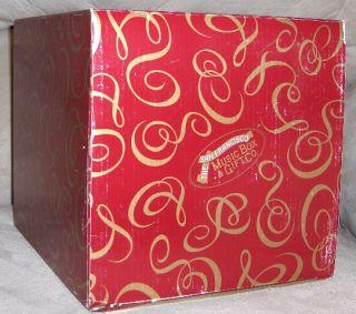 Music Box Winter White Angel Musical Waterglobe Maureen Drdak