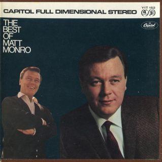 Matt Monro The Best of Capitol Reel Tape 3¾ IPS