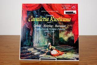 RCA Victor Mascagni Cavalleria Rusticana LP Product Image