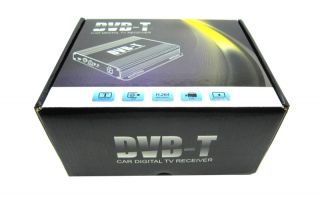 Car HD SD DVR H 264 DVB T TV Tuner Terrestrial Receiver High Speed