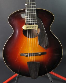 Eastman El Ray Ero Archtop Guitair w DeArmond 1100 Pick Up and