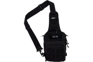Maxpedition Remora Gearslinger Shoulder Bag w Belt Loop Black 0419B