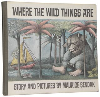Maurice Sendak   Where the Wild Things Are   HC 1st   NR