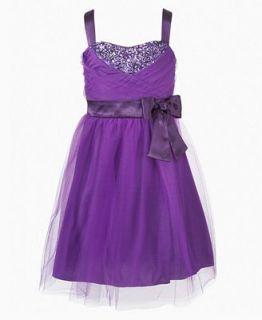 Ruby Rox Girls Dress, Girls Tulle Sequin Dress