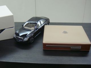Dunhill Maybach Luxury Leather Cigar Humidor Case Box