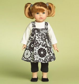 McCall Doll M5554 Pattern Fits American Girl Doll and Other 18 inch