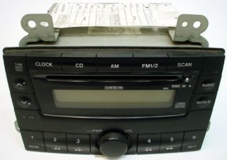 2000 2001 MAZDA MPV FACTORY OEM REPLACEMENT STEREO AM/FM RADIO TAPE CD