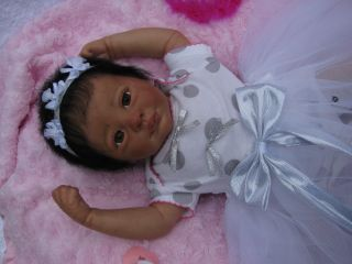 Adorable Reborn Ethnic Baby Girl Juliet by Marissa May So Cute