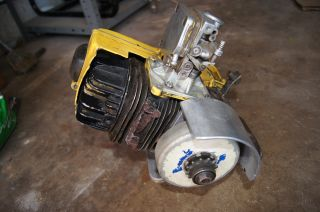 Vintage Mccollough Gas Powered 2 Stroke GoKart Engine