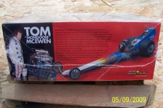 Model Kit Tom Mongoose McEwens Top Fuel Dragster New