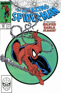 Todd McFarlane Spider Man 301 Production Art Cover