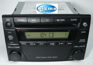 Mazda MPV 2004 2005 2006 CD Player Radio SAT Ready 4165 w O Mounts
