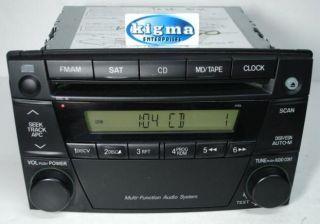 Mazda MPV 2004 2005 2006 CD Player Radio SAT Ready 4165 w O Mounts