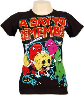 Day to Remember Jeremy McKinnon T Shirt Skinny Fit M