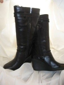 UGG Maxene Boots Black Leather US Sz 6 UK 4