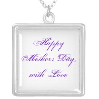 Mothers Day Personalized Necklace