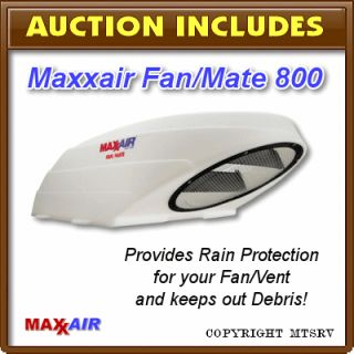 Maxxair Fan Mate Model 800 RV Fan and Vent Rain Cover