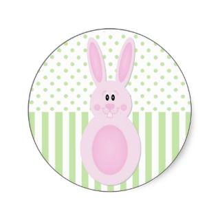 Easter Bunny Egg Sticker