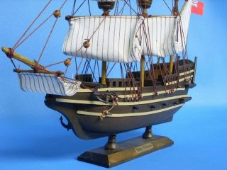 Mayflower 14 Historic SHIP Models Vintage Model Boat Fully Assembled