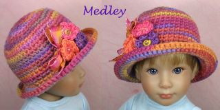Medley New OOAK Custom Hat for Kidz N Cats Blythe Doll by Ellen Harris