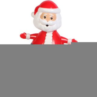 Solar Powered Dancing Santa 4 Tall Desktop Decoration Santa Claus