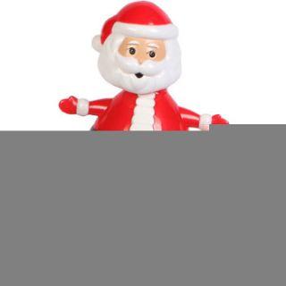 Solar Powered Dancing Santa 4 Tall Desktop Decoration Santa Claus