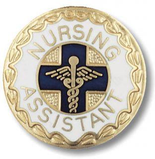 Nursing Assistant Medical Insignia Emblem Pin New